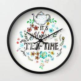 It's always teatime - 2 Wall Clock