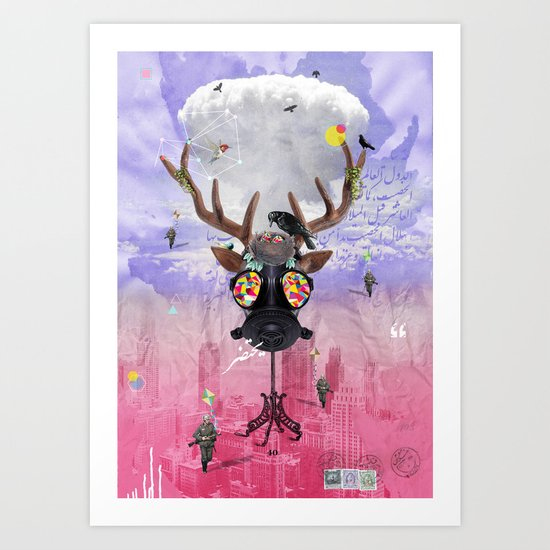 Ozone Is Dying Art Print