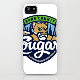 kane county cougars iPhone Case
