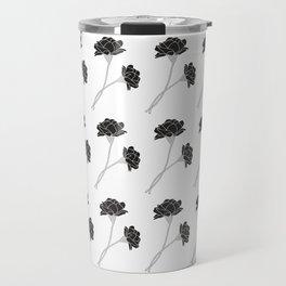 Flower Stems Travel Mug