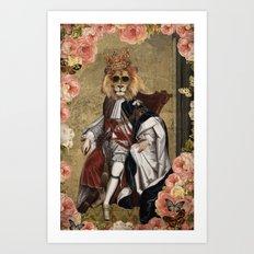 Animal Collection -- The King Art Print