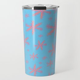 Pink stars Travel Mug