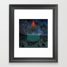 Drink the Sea Framed Art Print