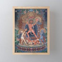 Hindu - Kali 3 Framed Mini Art Print