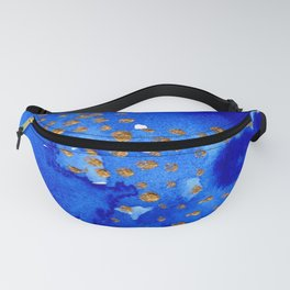 gold snow I Fanny Pack