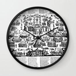 The Spiritual Warfare Wall Clock