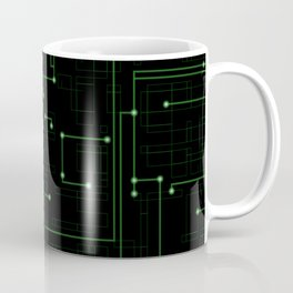 Electric Maze Coffee Mug