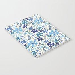 My Little Garden blue & green Notebook