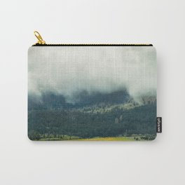 Foggy Morning Meadow Carry-All Pouch