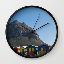 Muizenberg Beach Wall Clock