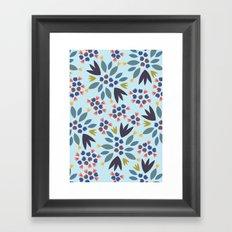 Blueberry 2 Framed Art Print