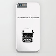 typewriter Slim Case iPhone 6s