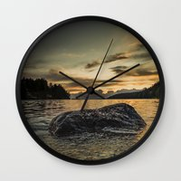 monsters Wall Clocks featuring Monsters by HappyMelvin