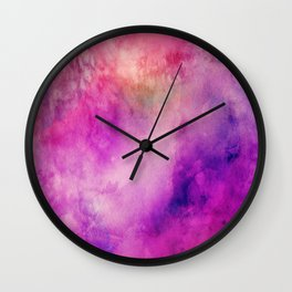 Watercolor background Wall Clock