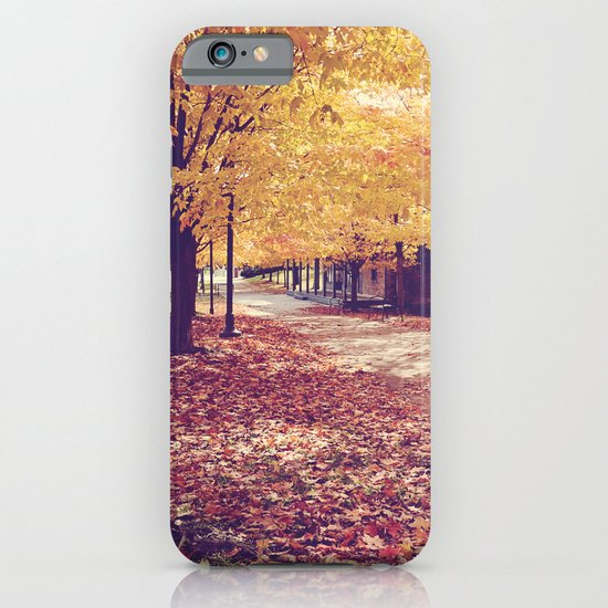 The Autumn Path iPhone & iPod Case