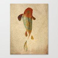 koi Canvas Prints featuring Mystic Koi by Fernando Vieira