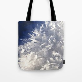 Cloud of ice crystals Tote Bag