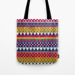 Mexican Pattern Tote Bag