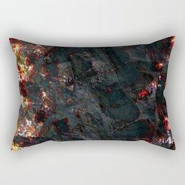 burnt ice Rectangular Pillow