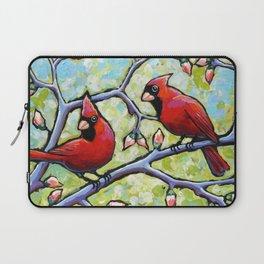 Two Cardinals Laptop Sleeve