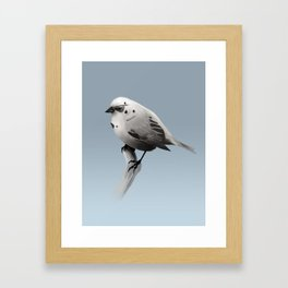 Bird Trooper Framed Art Print