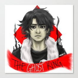 Ghost King Canvas Print