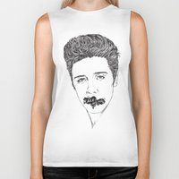 elvis presley Biker Tanks featuring ELVIS PRESLEY by Only Vector Store - Allan Rodrigo