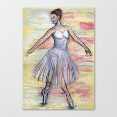 Prima in Waiting Canvas Print