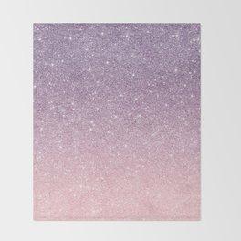 Ombre glitter #14 Throw Blanket
