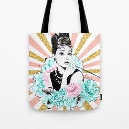 Iconic Audrey Hepburn Tote Bag