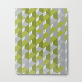 3D Lovely GEO V Metal Print