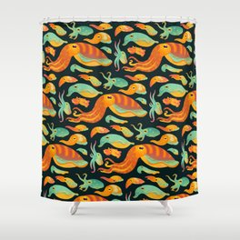 Cuttlefish Shower Curtain