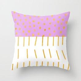 AZTEC BABE - Modern Pink Furniture Throw Pillow