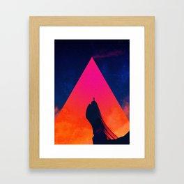 GILGAMESH Framed Art Print