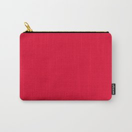 Medium Candy Apple Red - solid color Carry-All Pouch