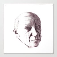 pablo picasso Canvas Prints featuring Pablo Picasso by Eric's Trip