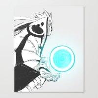 naruto Canvas Prints featuring Naruto by Iotara