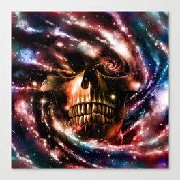Space Skull II Canvas Print