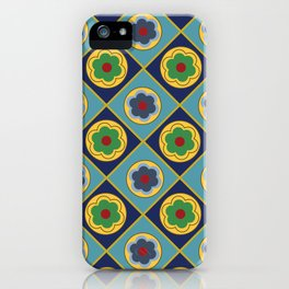 French Limoges Enamel Flowers One iPhone Case