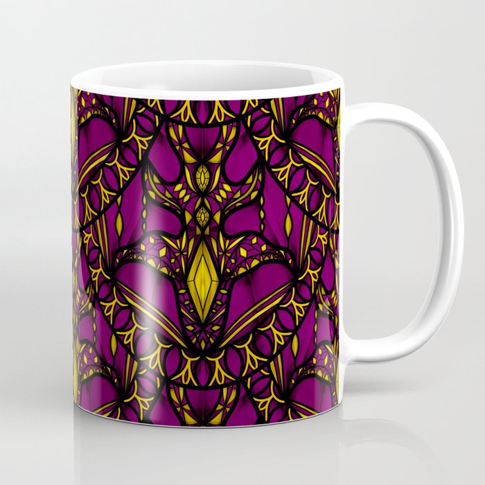 Magenta Scales Coffee Mug