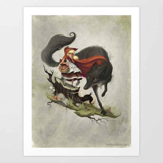 """Unto an evil counsellor, close heart and ear and eye..."" Art Print"