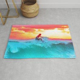 Sunset Surf Rug