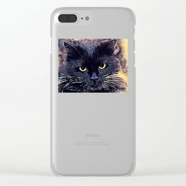 Cat Lucy Clear iPhone Case