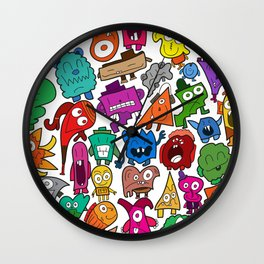 The shapely bunch Wall Clock