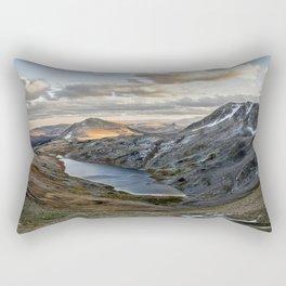 Hidden Lake Wyoming Rectangular Pillow