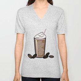 Iced Coffee Unisex V-Neck
