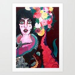Living in fear Art Print