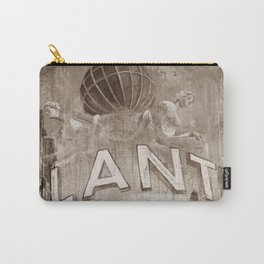 Good bye perl - Hans Albers version - sepia Carry-All Pouch
