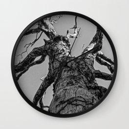 Dead Tree Wall Clock