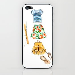 Summer Adventures iPhone Skin